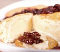 plate of Very (Cran)berry Brie